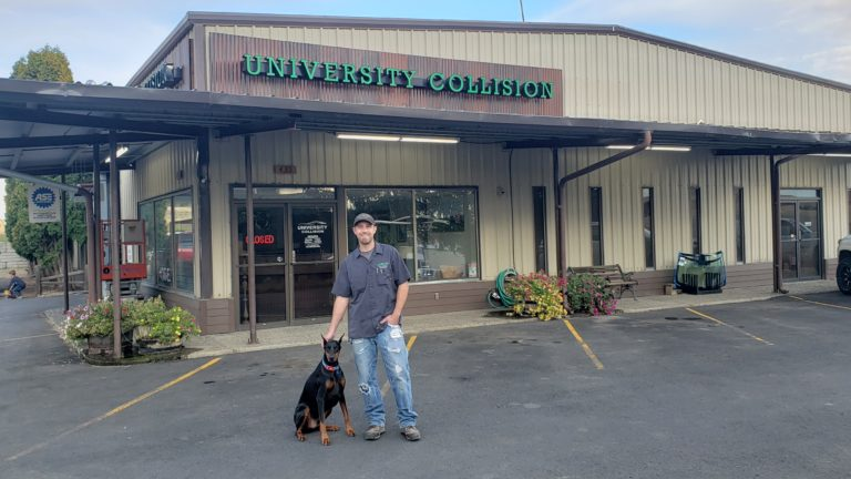 University Collision Auto Body Maintenance Moscow Idaho Location